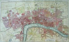 A NEW AND ACCURATE PLAN OF THE CITIES OF LONDON AND WESTMINSTER