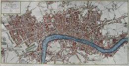 LONDON PLAN VON LONDON UND WESTMINSTER