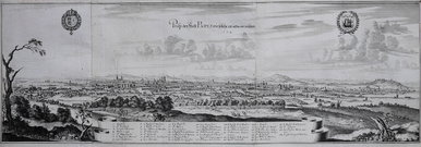 MERIAN'S PANORAMA OF PARIS