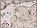 MERIAN MAP OF LITHUANIA ESTONIA & LATVIA