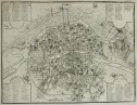PLAN OF PARIS  BY SCROTIN AFTER DE FER
