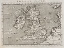 MINT EXAMPLE OF MAGINI'S MAP OF THE BRITISH ISLES