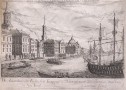 NEW YORK  LARGE EIGHTEENTH CENTURY COPPER ENGRAVING
