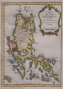 BELLIN'S MAP OF THE PHILIPPINES   MANILLA