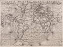 ANTIQUE MAP OF THE WORLD RUSCELLI'S 1561 WORLD MAP