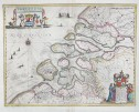 JANSSONIUS MAP OF ZELANDE  ZEELANDIA