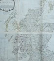 MONUMENTAL WALL MAP OF SCOTLAND  BY ROBERT CAMBELL
