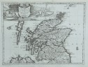 VAN DER AA'S RARE MAP OF SCOTLAND