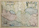 MERCATOR CLASSIC MAP OF THE HOLY LAND