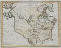 INTERESTING MAP OF NORTH AMERICA 1772