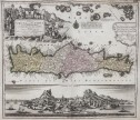 SEUTTER'S SUPERB MAP OF CRETE