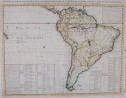 CHATELAIN MAP OF SOUTH AMERICA