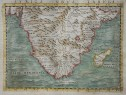 GASTALDI'S 1548 MAP OF SOUTHERN AFRICA