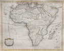 BOURGOIN'S MAP OF AFRICA