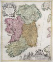 HOMANN'S MAP OF IRELAND
