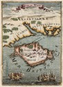 MALLET MAP OF THE ISLE OF WIGHT