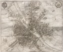 MERIAN'S SUPERB MAP OF PARIS