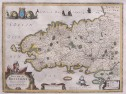 JANSSONIUS MAP OF BRITTANY