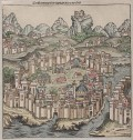 CONSTANTINOPLE  SCHEDEL   NUREMBERG CHRONICLE