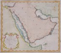 BELLIN MAP OF ARABIA