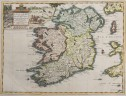 VAN DER AA MAP OF IRELAND