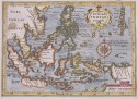 MERCATOR HONDIUS MAP OF EAST INDIES