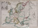 LA ROUGE MAP OF EUROPE