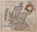 MERCATOR MAP OF SCOTLAND