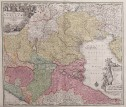SEUTTER SUPERB FOLIO MAP OF VENICE REGION 1730