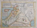 MUNSTER MAP OF HOLY LAND  CYPRUS   NEAR EAST