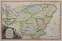 THOMAS CONDOR'S RARE MAP OF CENTRAL SCOTLAND DUNDEE ABERDEEN  FORT WILLIAM